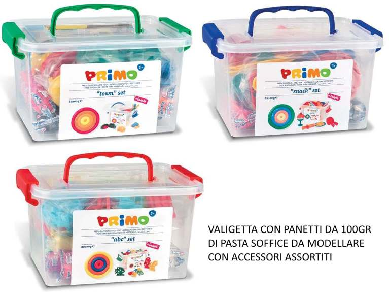 EASYDO PRIMO SET CITY/SNACK/ABC