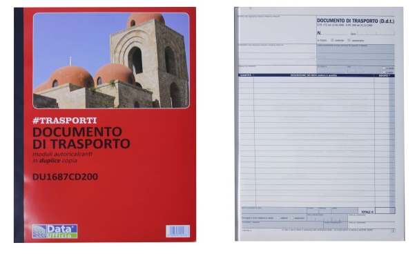 DOCUMENTO DI TRASP.2COP. A4 DU1687CD200