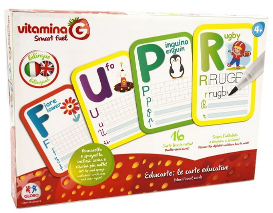 CARTE EDUCATIVE BILINGUE 16PZ 24X33 GLB