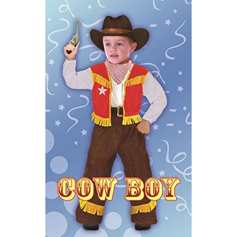 COSTUME COWBOY BABY 3-4 61344