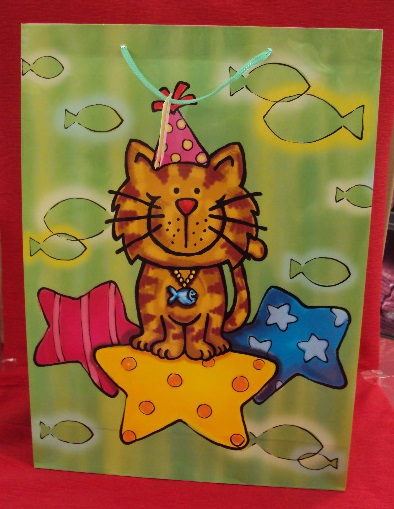 BORSA CARTA GATTO 32X10X44 802324012